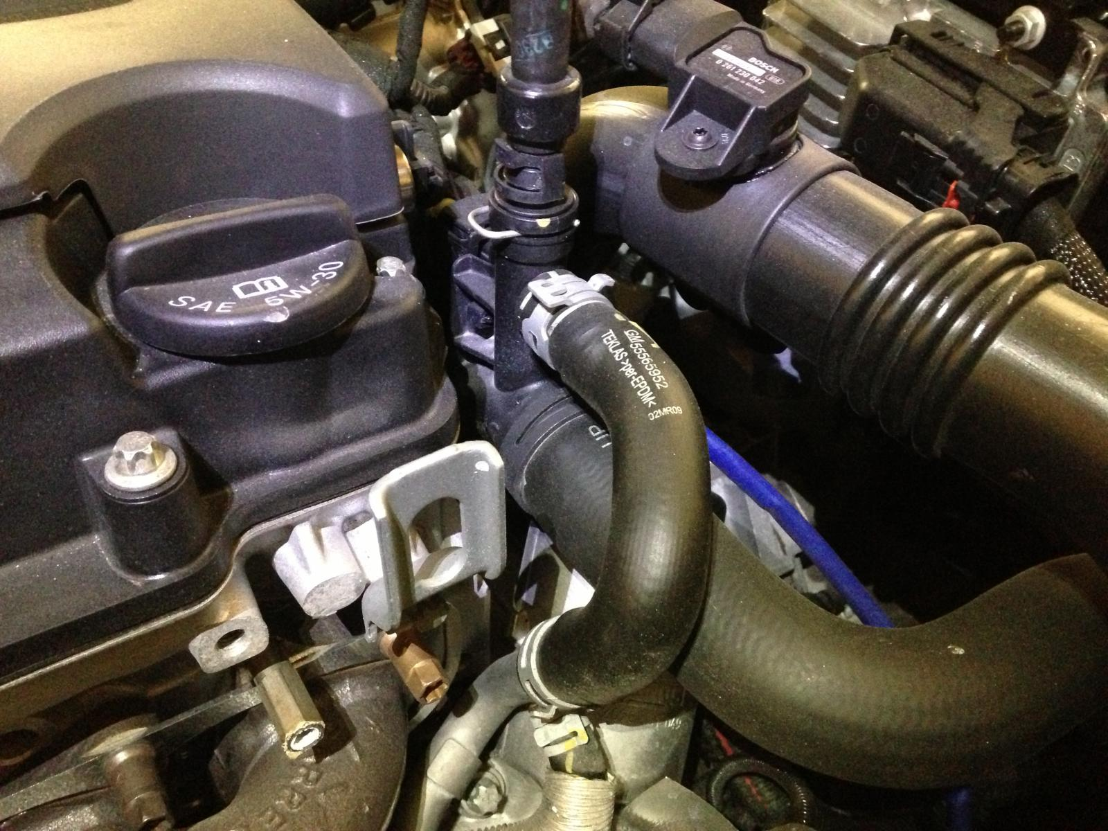 2012 Cruze Ltz Antifreeze Leak 2011 Chevy Eco Also013