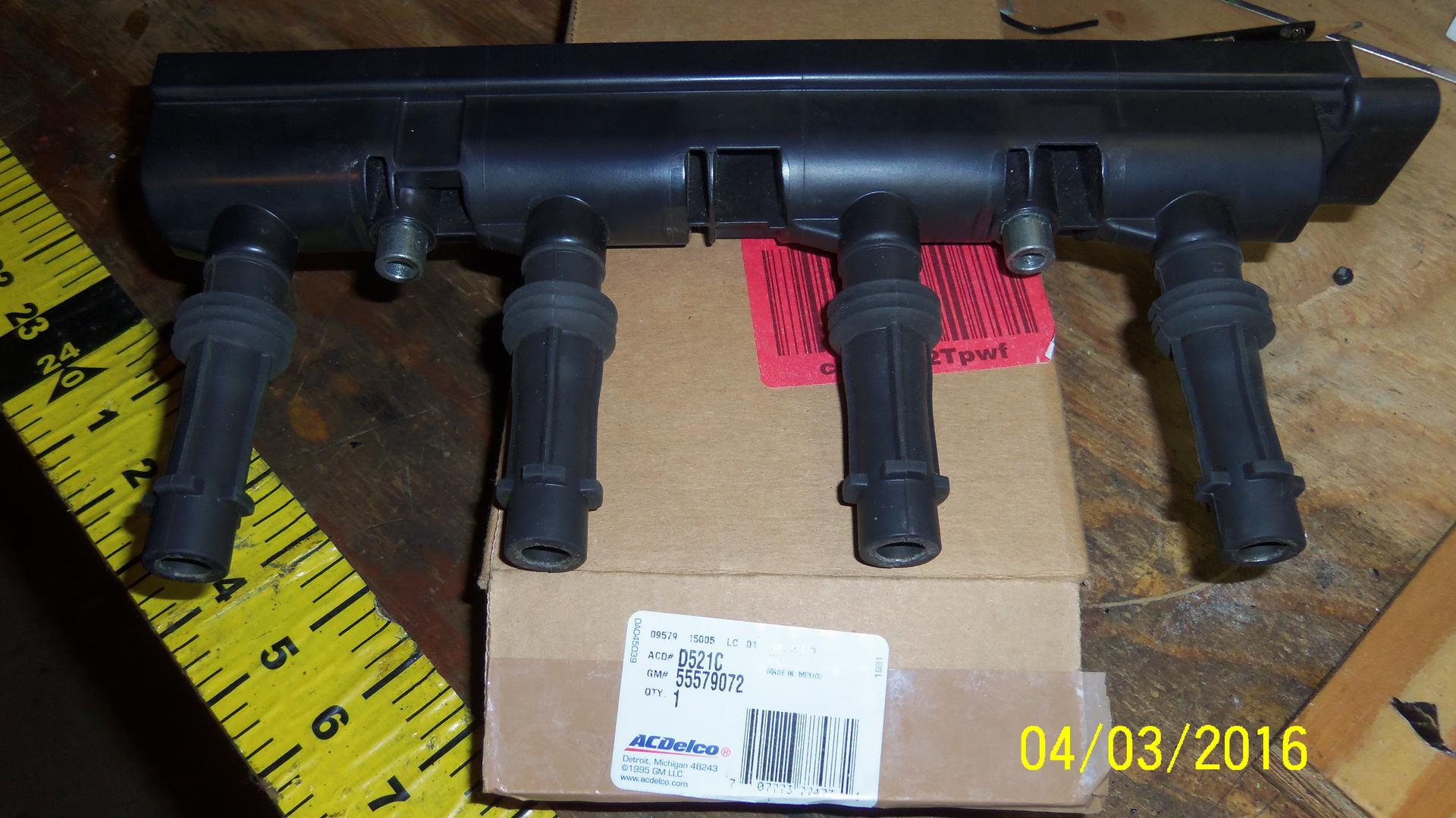 Fs acdelco d521c gm original equipment ignition coil now 50 shipped in us