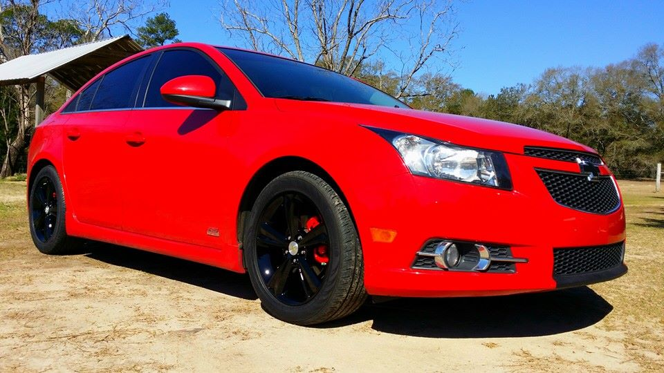 D Painted Factory Wheels Black Rs N on 22 Chevy Rims