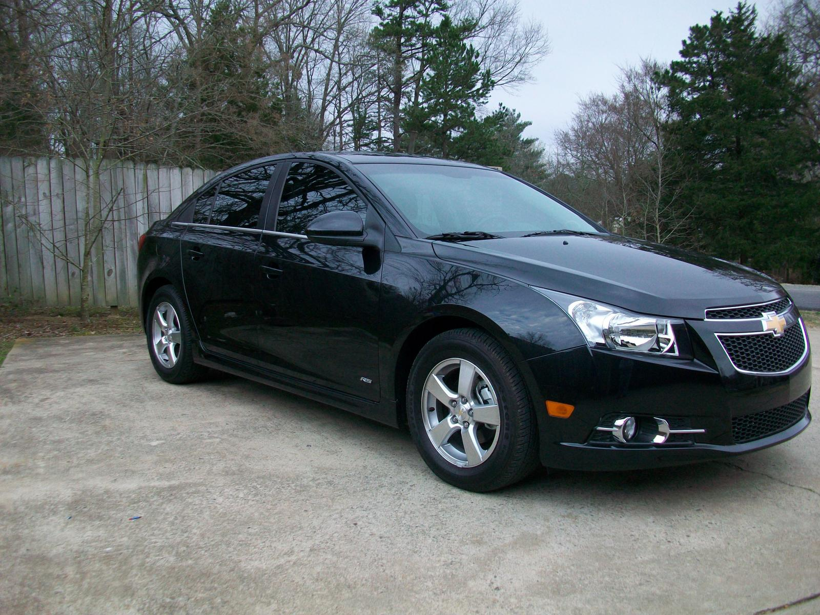 2012 chevrolet cruze lt rs the second day of owning it i got the windows tinted