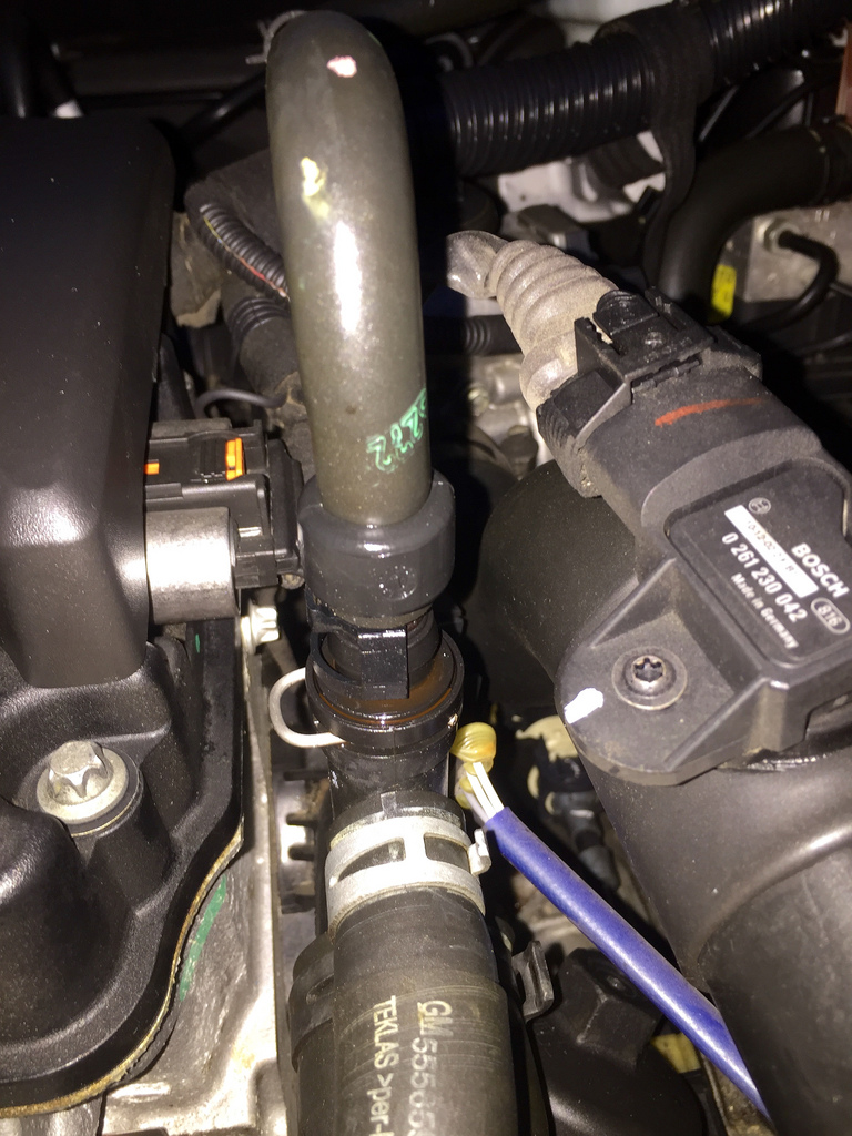 2012 Cruze Ltz Antifreeze Leak