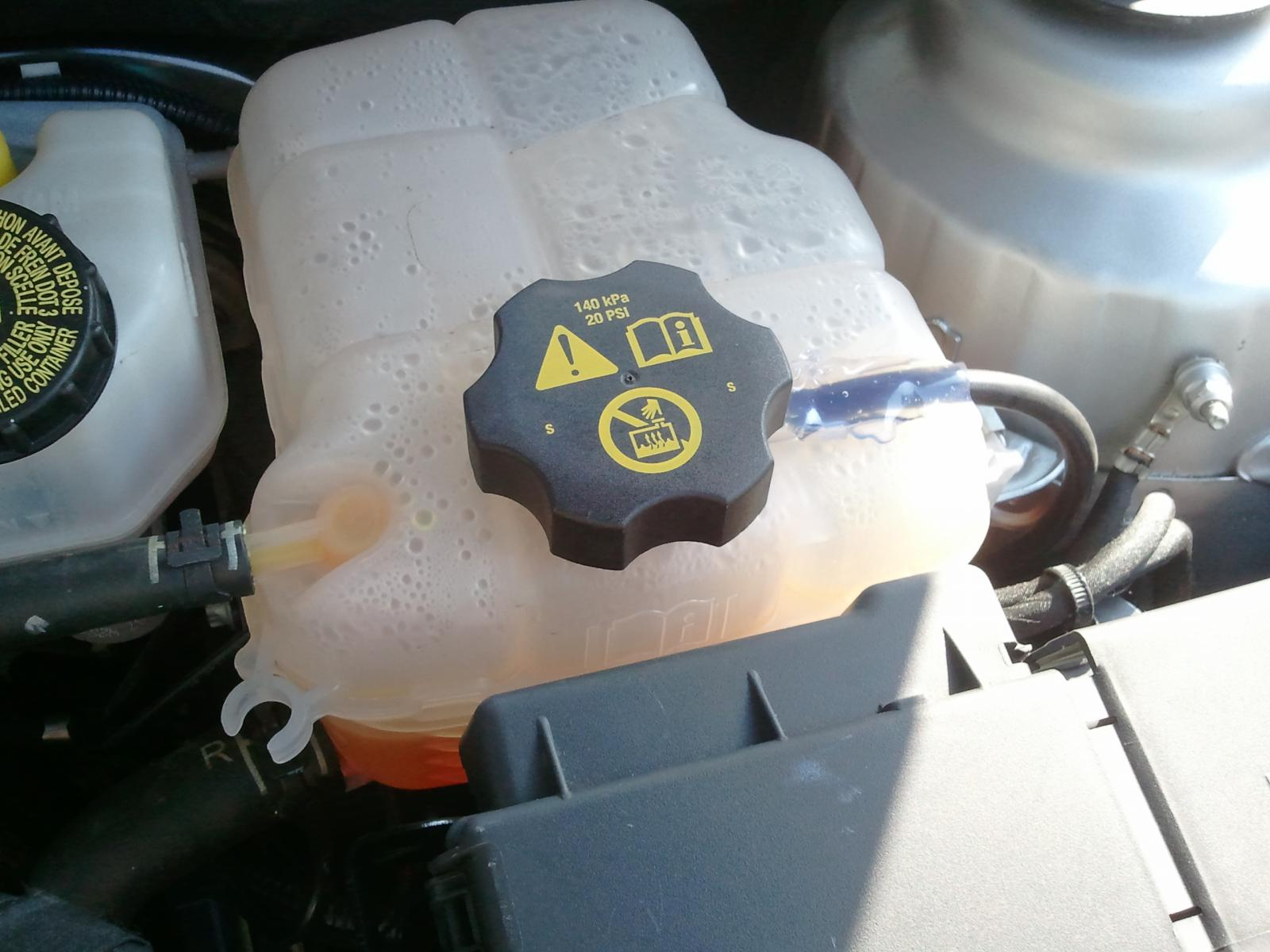 2012 chevy cruze antifreeze