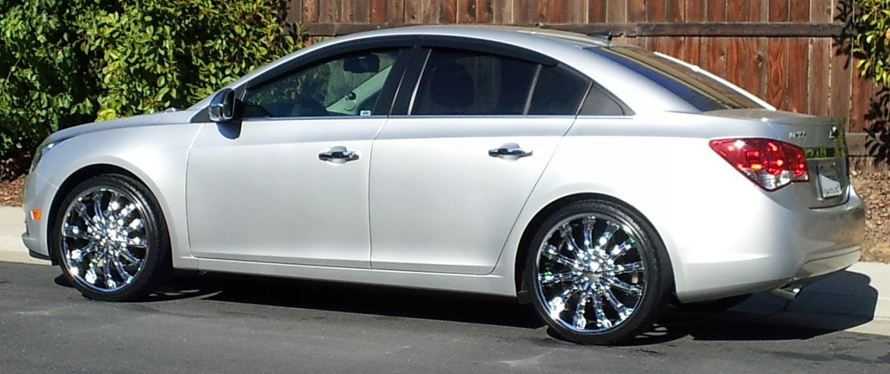 A Hard Decision Inch Or Inch On My CRUZE - Show me rims on my car