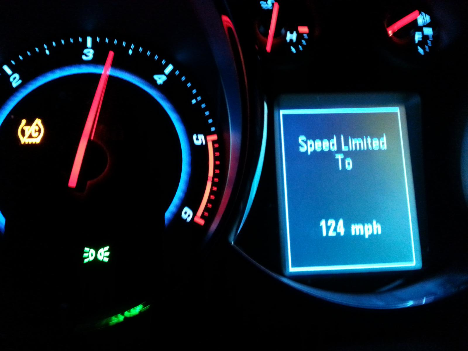 Cruze Diesel Top Speed?