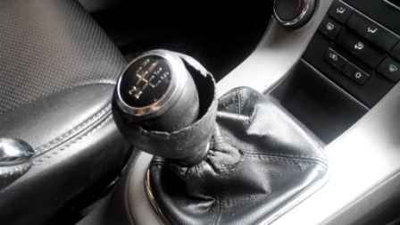 how to remove shift knob on manual transmission?