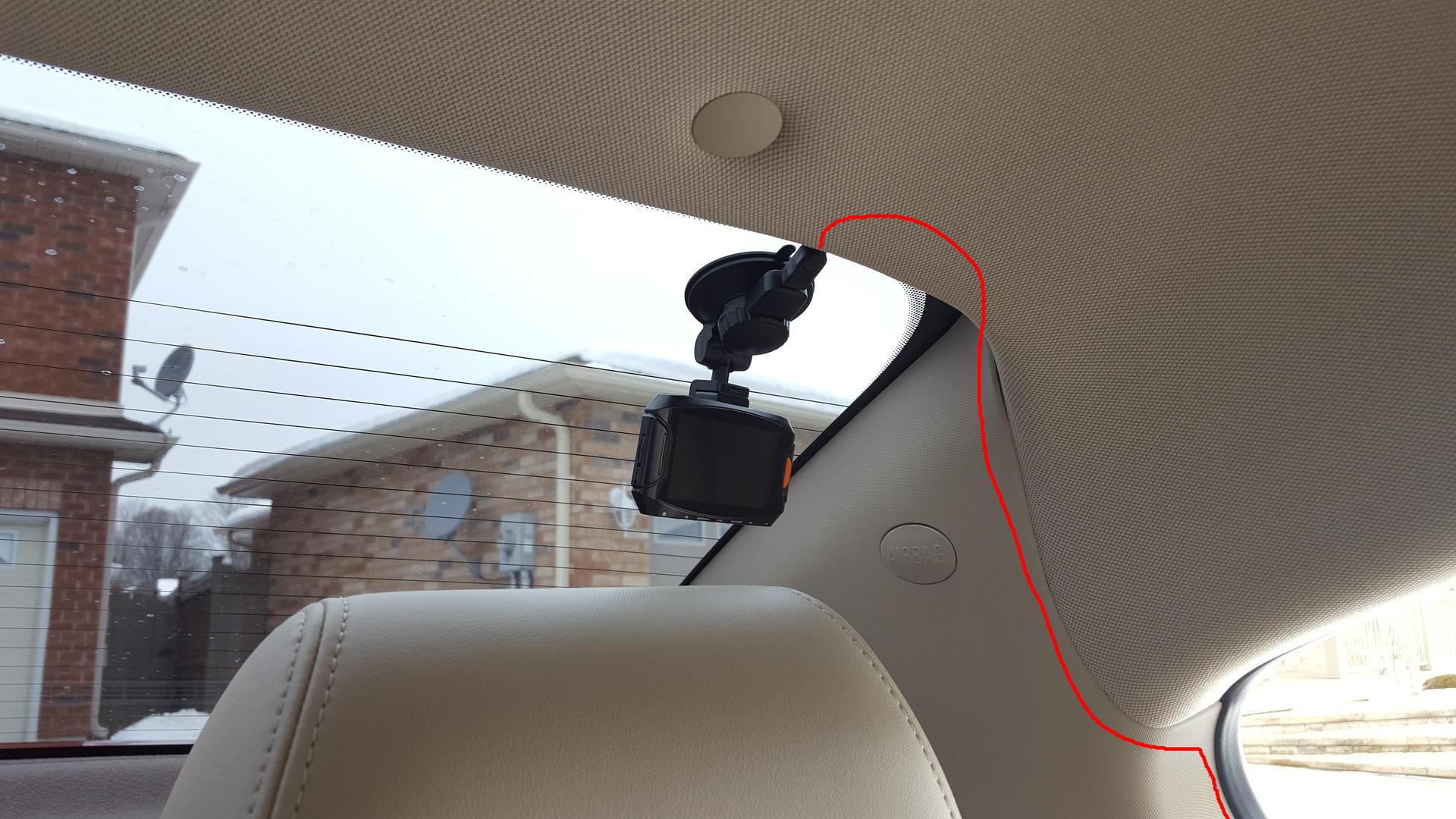 Dash Camera Hardwiring With Power Magic Pro 2011 Chevy Cruze Fuse Box 20160130 134302
