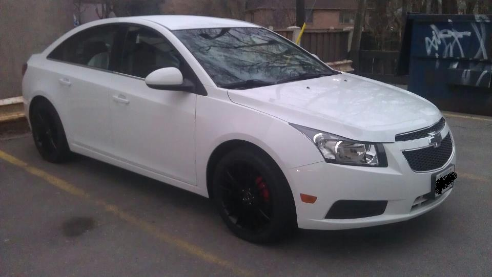 Pics For Gt Chevy Cruze Black Rims