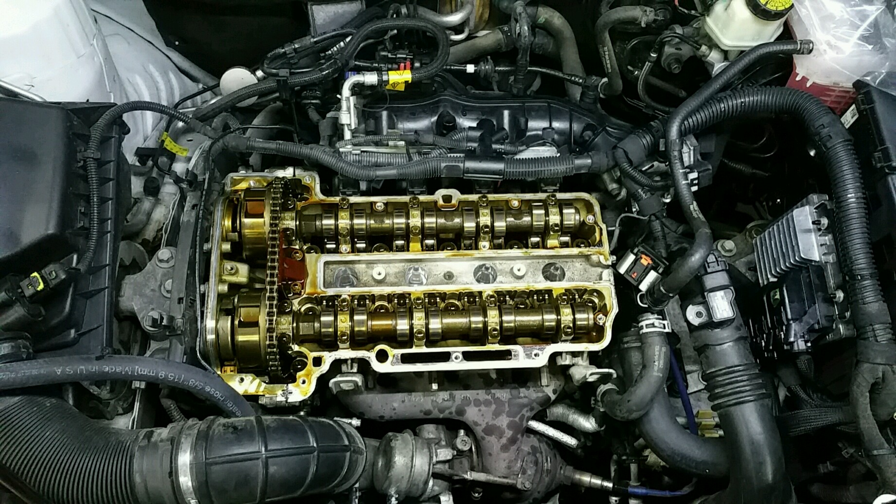 Oil everywhere  Most likely cause? | Chevrolet Cruze Forums