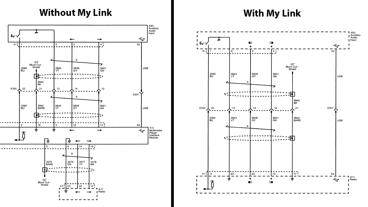 how i did the mylink wire harness