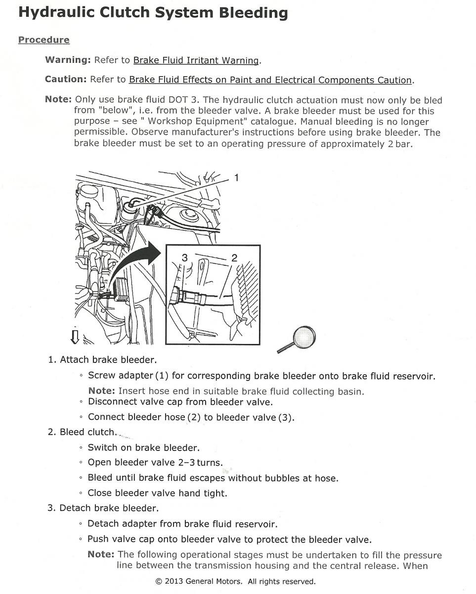 Chevrolet Sonic Repair Manual: Clutch Actuator Cylinder Front Pipe Replacement