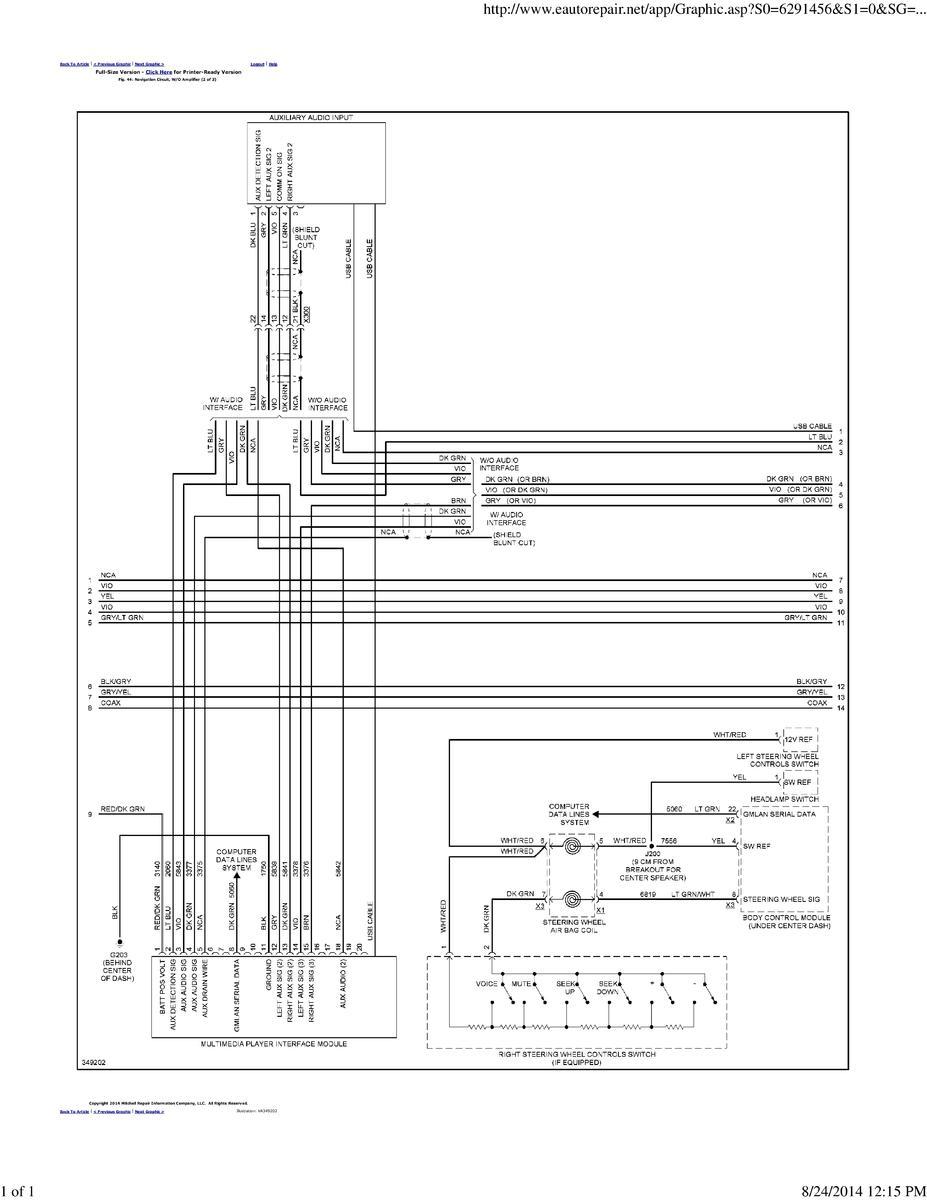 cruze wiring diagrams chevrolet cruze forums 2013 Chevy Wiring Harness Diagram cruze diagram 2 (without amp) 001 jpg