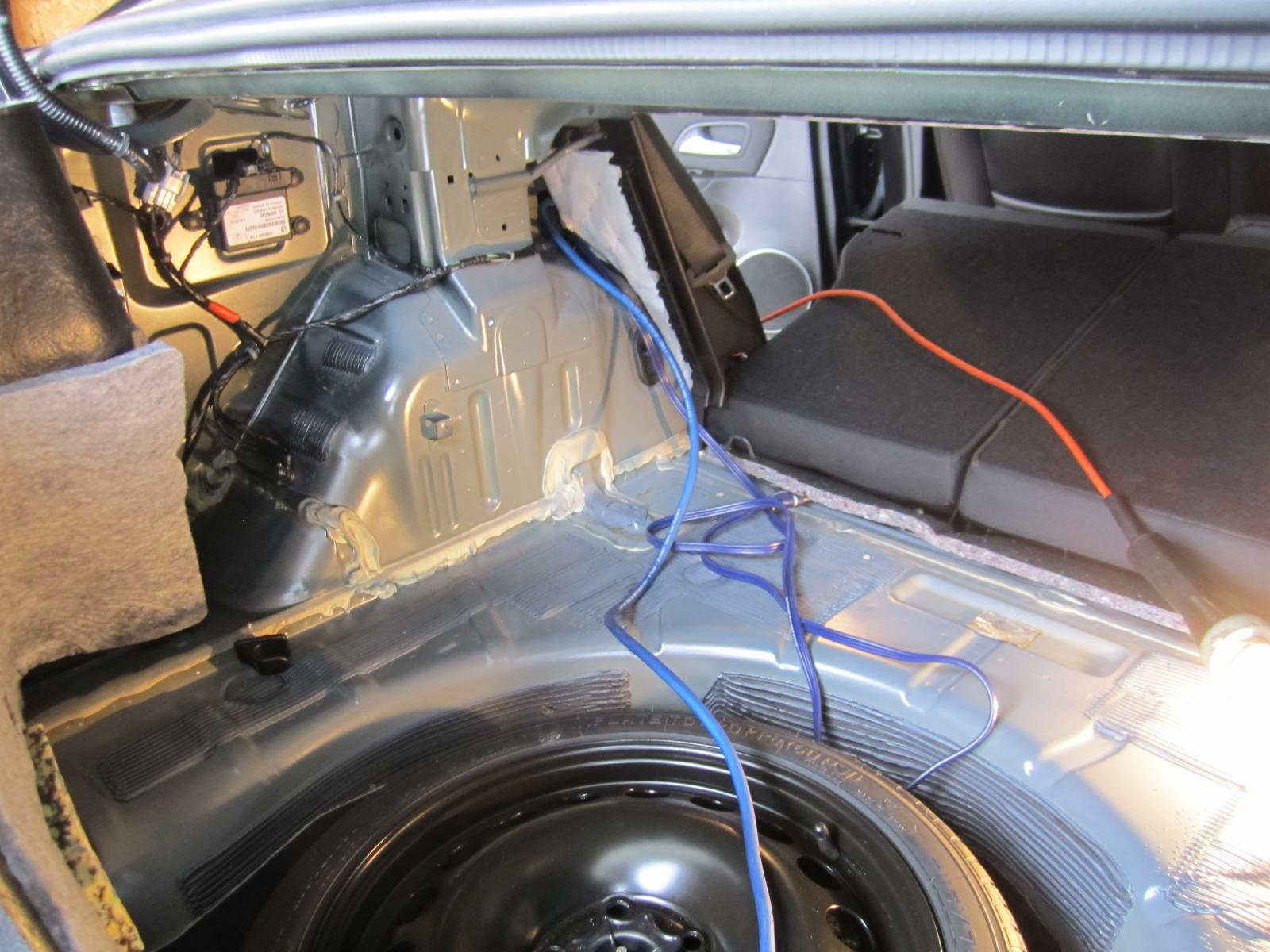 Chevy Cruze Wiring Harness Library Tundra Oem Radio Wire Diagram Subwoofer Install 003 2 Help With Tapping Into Stock Speaker