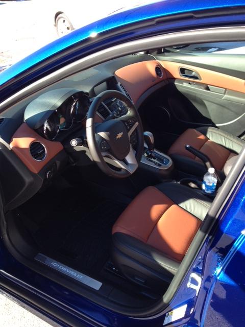 2013 Chevy Cruze Black Interior
