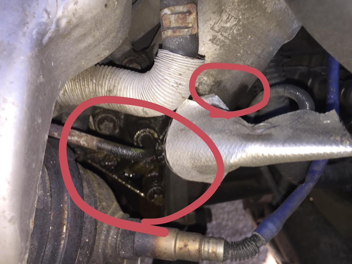 2007 chevy impala oil filter housing leak free image