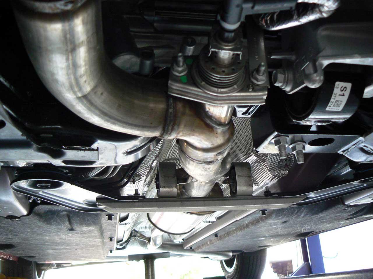 Cruze Diesel Stock Exhaust