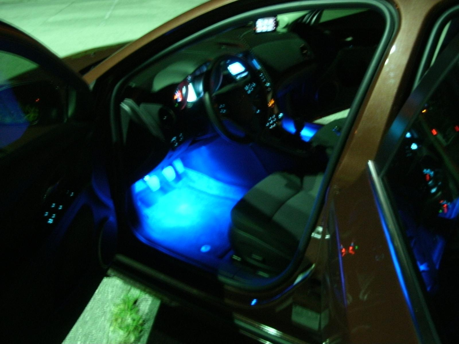 & LED Glow interior lights install help