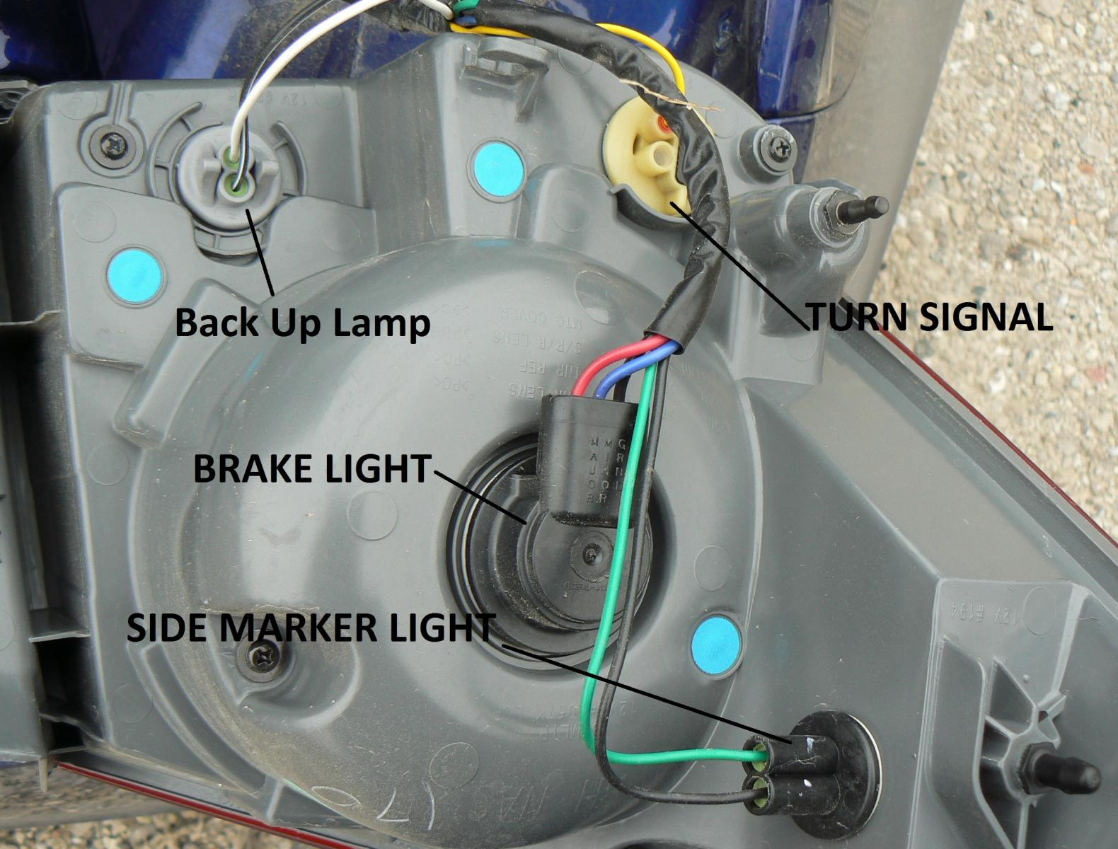 how to install a back up camera cheaply housing jpg we are after the reverse lamp