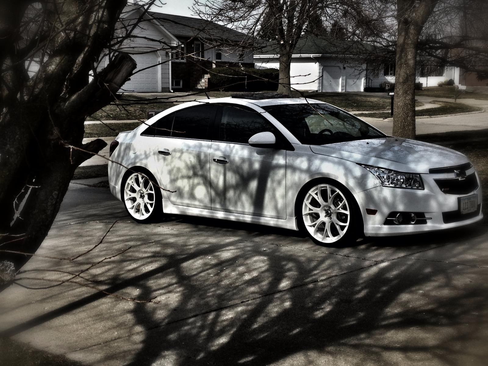 Chevy Cruze 14 Turbo Thread: Dharvey72's 2012 RS White Out