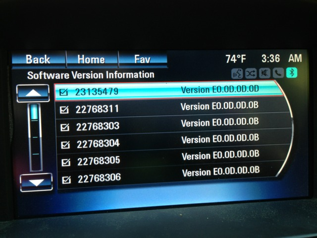 Chevy Mylink Software Update >> What Mylink Software Version Do You Have