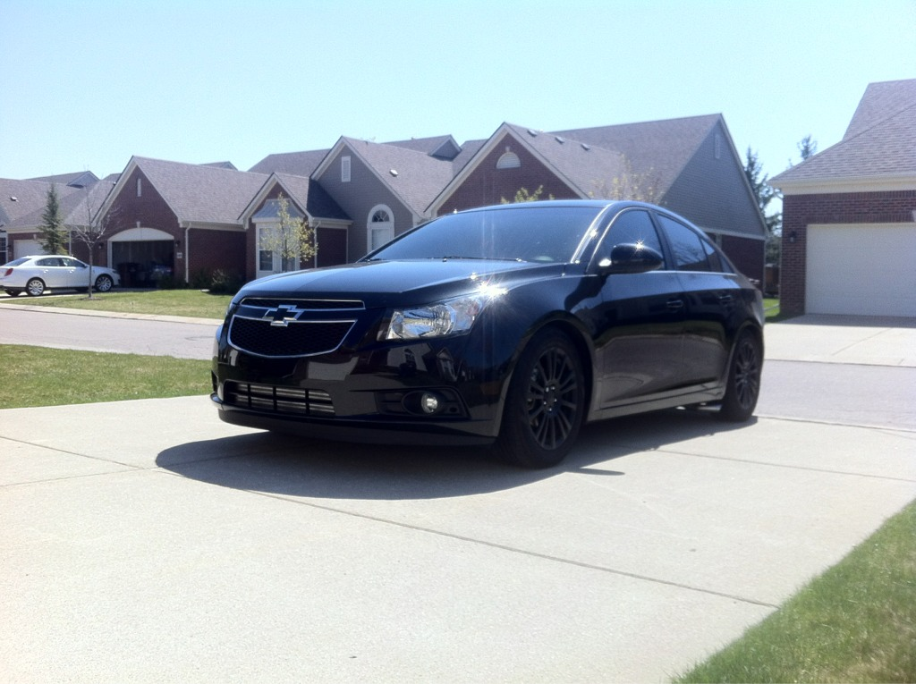 Nice Wheels On The Chevy Cruze Page 2