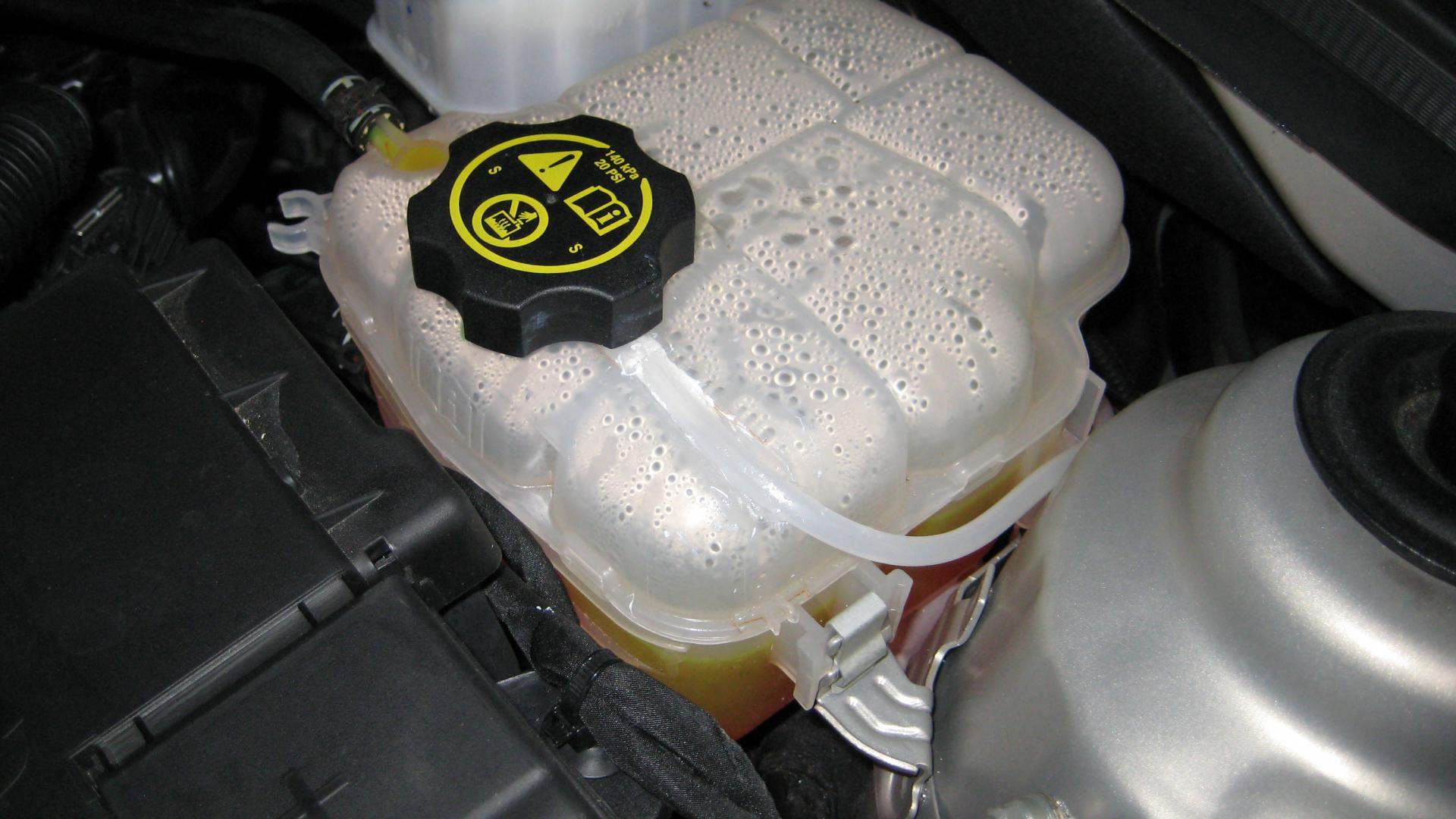 coolant reservoir level-won u0026 39 t stay topped off