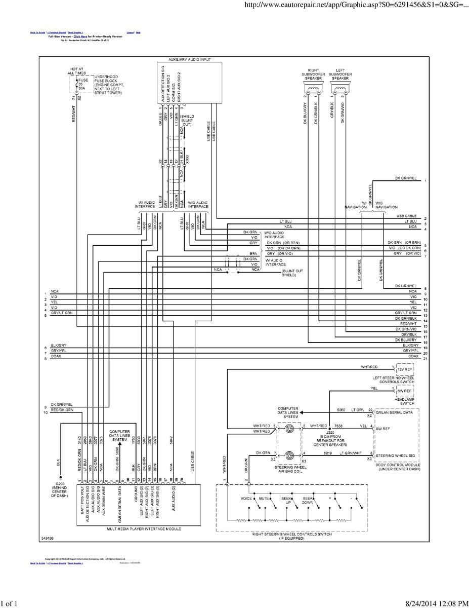 factory pioneer amp speaker wire diagram??  chevy cruze radio wiring diagram thread looking for wiring diagram #4