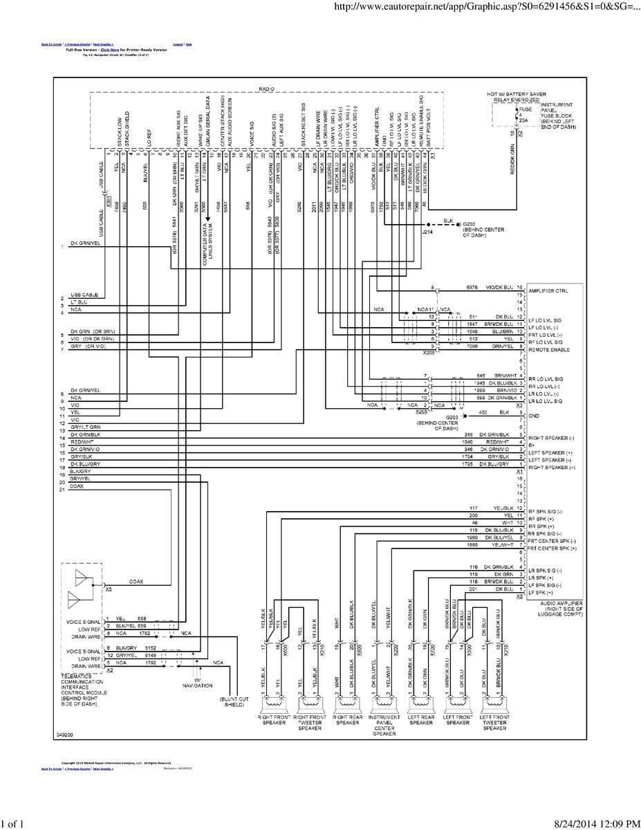 factory pioneer amp speaker wire diagram?? chevrolet cruze forums GM Wiring Diagrams For Dummies