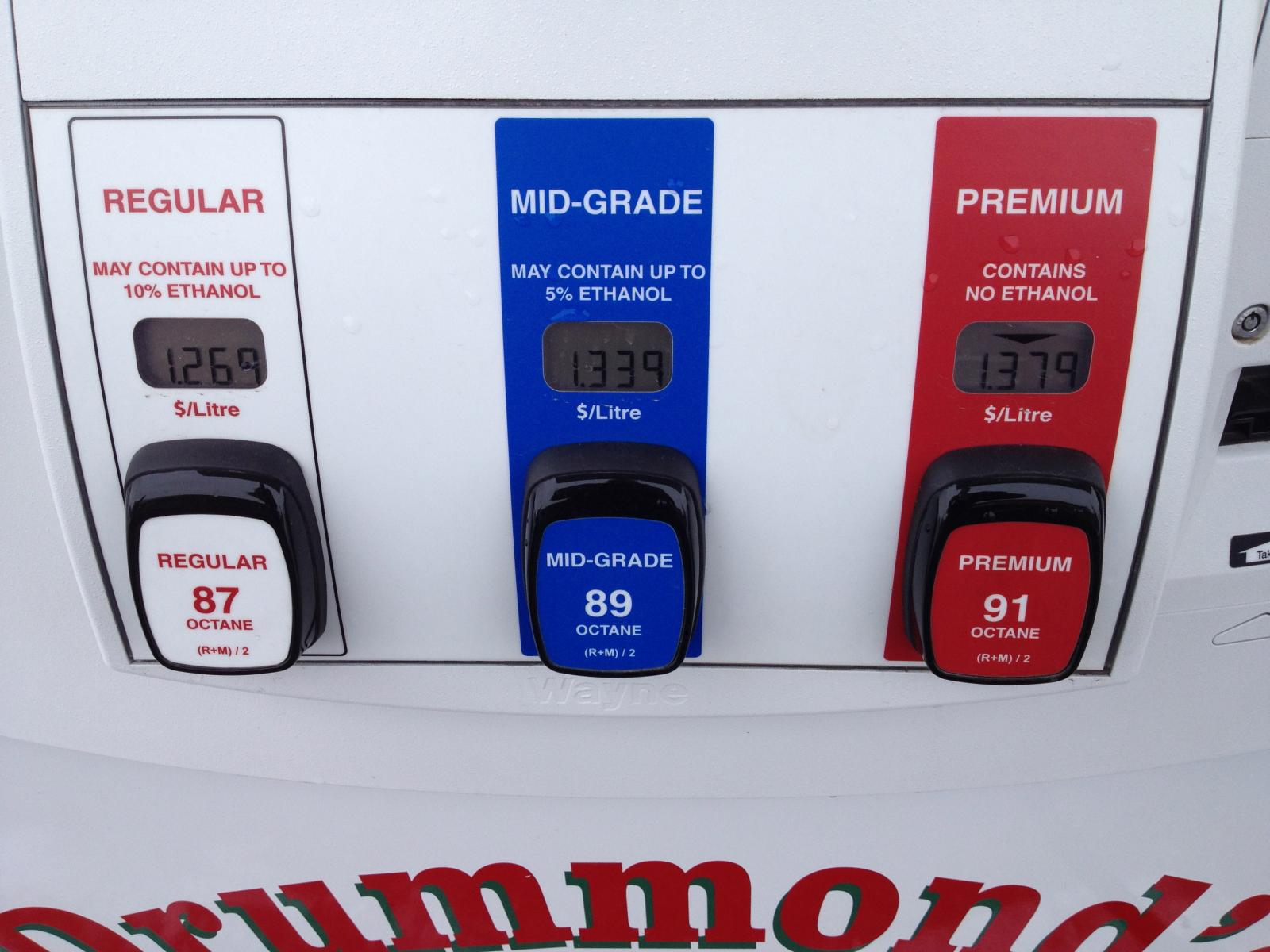 Non Ethanol Gas Stations >> Ethanol Free Gas In Canada Chevrolet Cruze Forums