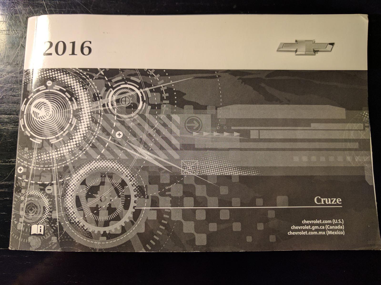 Chevy cruze service schedule user manuals array 2016 owner u0027s service manual rh cruzetalk com fandeluxe Gallery