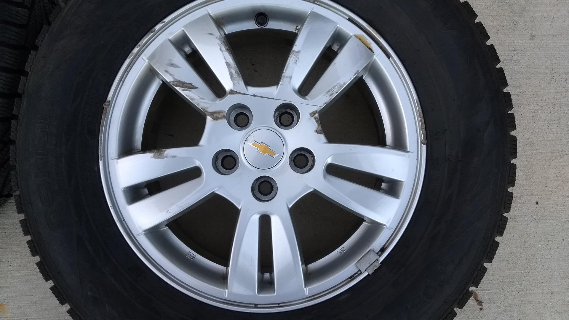 """Nokian Hakkapeliitta R2 >> FS: Winter Wheel/Tire package - Nokian Hakkapeliitta R2 tires on 15"""" Sonic Wheels"""