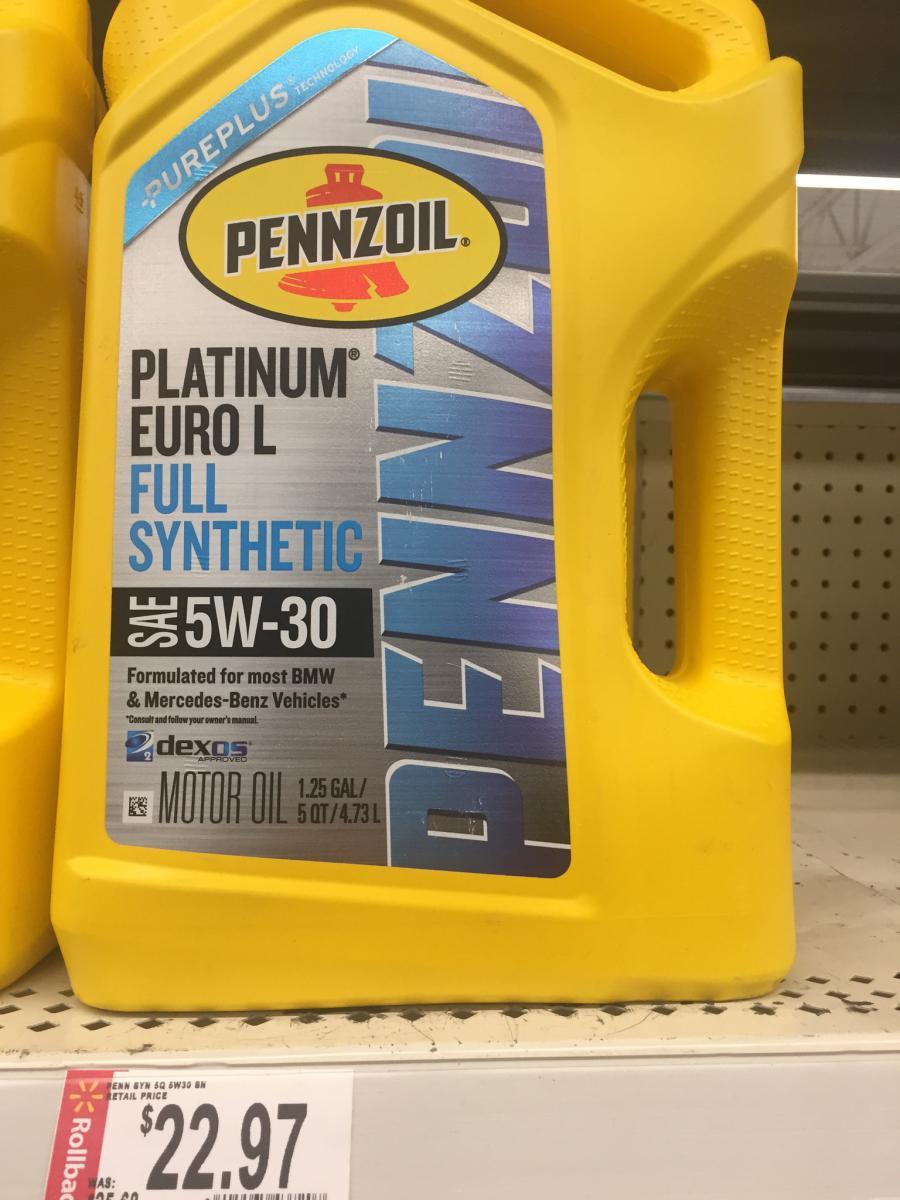 huile dexos 2 5w30 long life