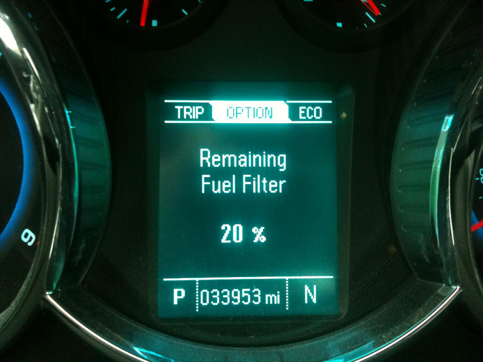 The Definitive Answer On Fuel Filter Life Its Not Miles 2013 Dodge Diesel Img 4751