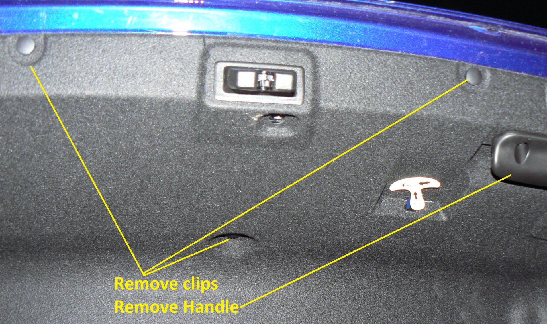 Chevy Cruze Wiring Harness Boot Library Grommet How To Install A Back Up Camera Cheaply Liner