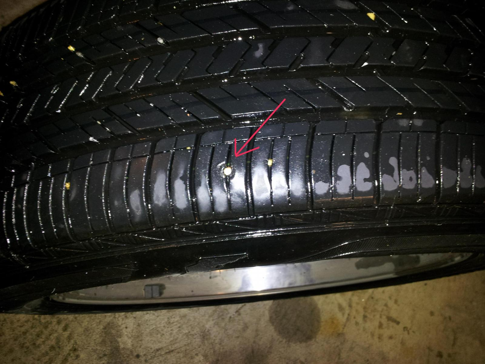 Nail too close to sidewall?