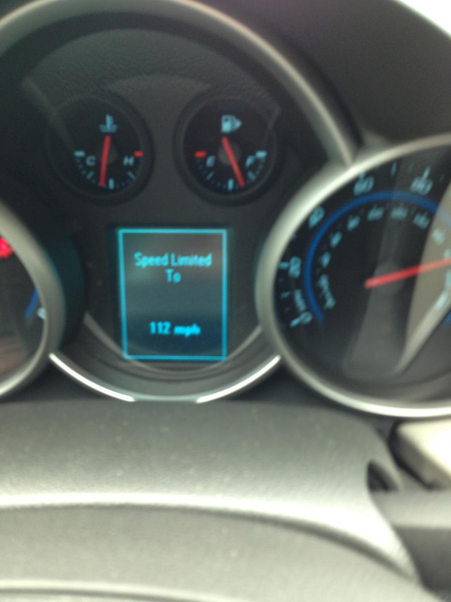 What's the top speed with a 1.4 auto