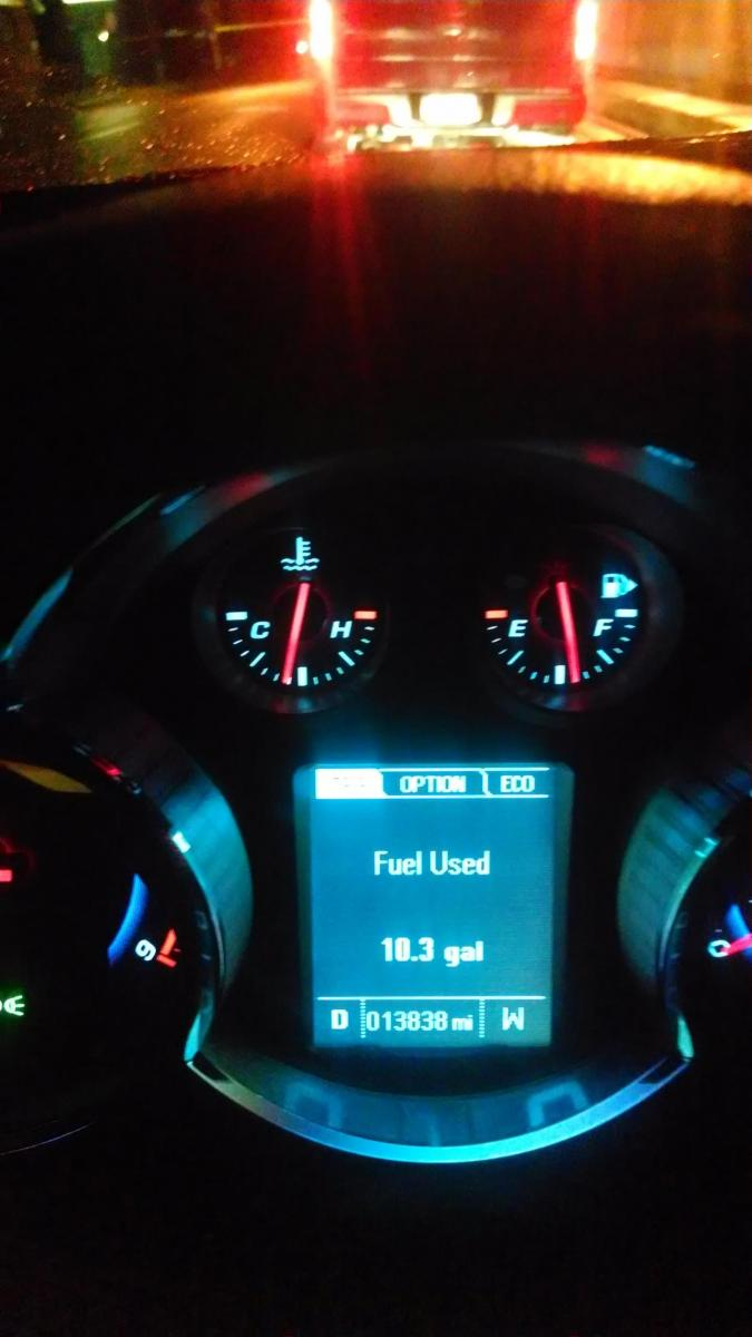2015 checycruze diesel gas milage autos post