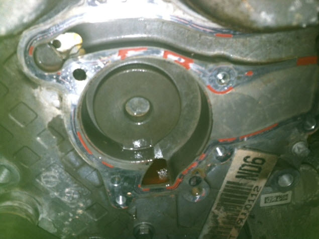 2012 cruze water pump replacement