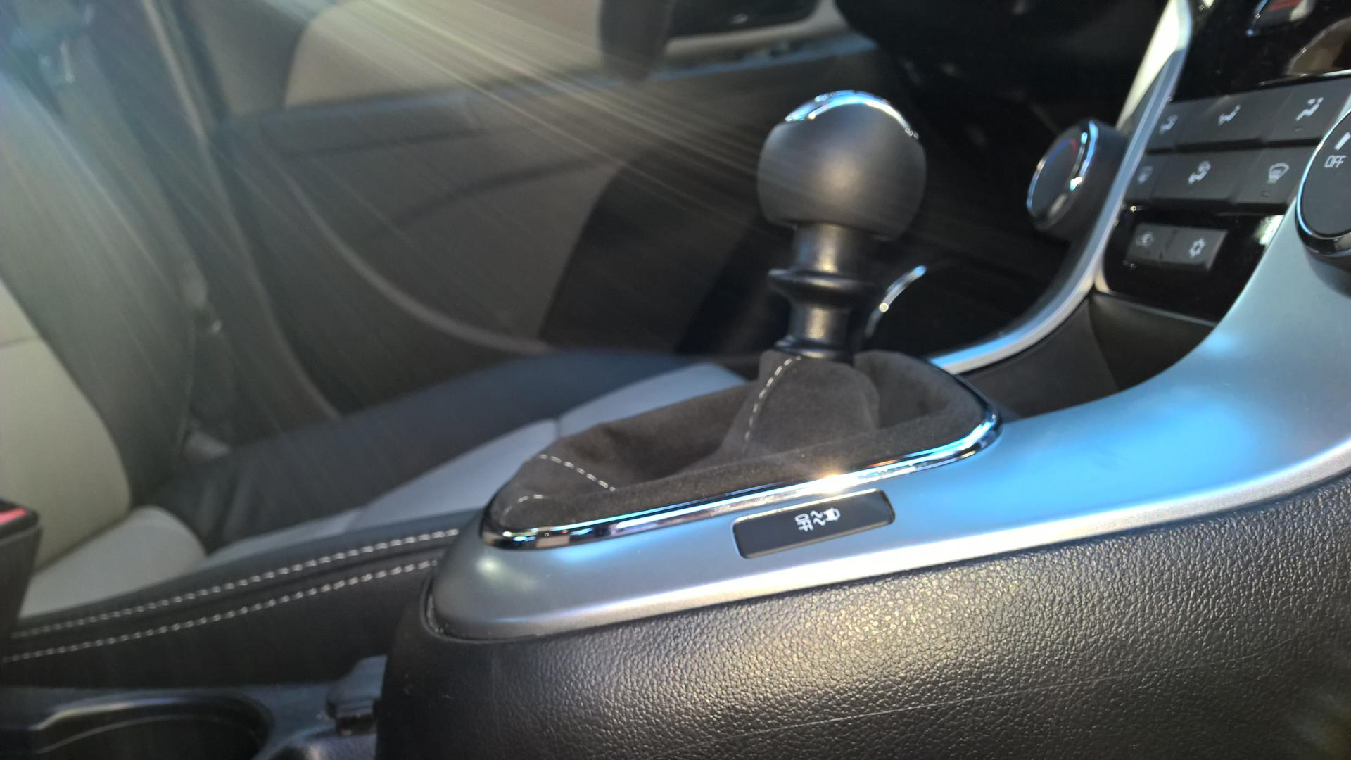 New Manual Shifter Knob Boot with Katzkin Interior