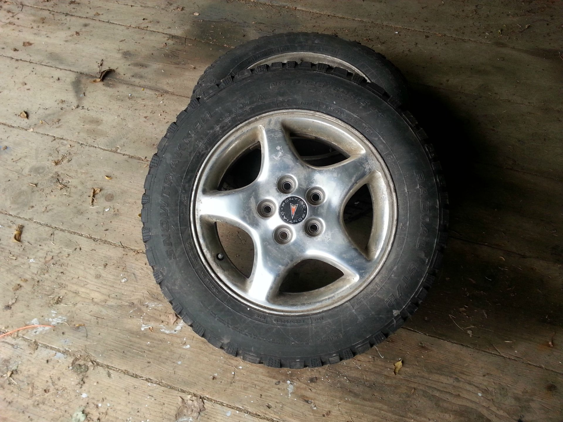 2012 Chevy Cruze Tire Size >> Will My Old Pontiac Rims With Winter Tires Fit Chevrolet