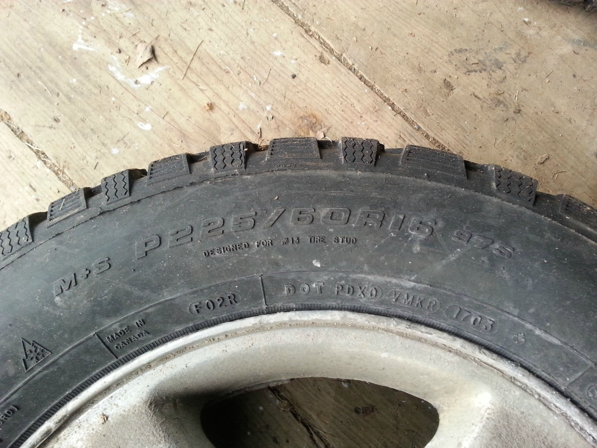 2012 Chevy Cruze Tire Size >> Will My Old Pontiac Rims With Winter Tires Fit Chevrolet Cruze Forums