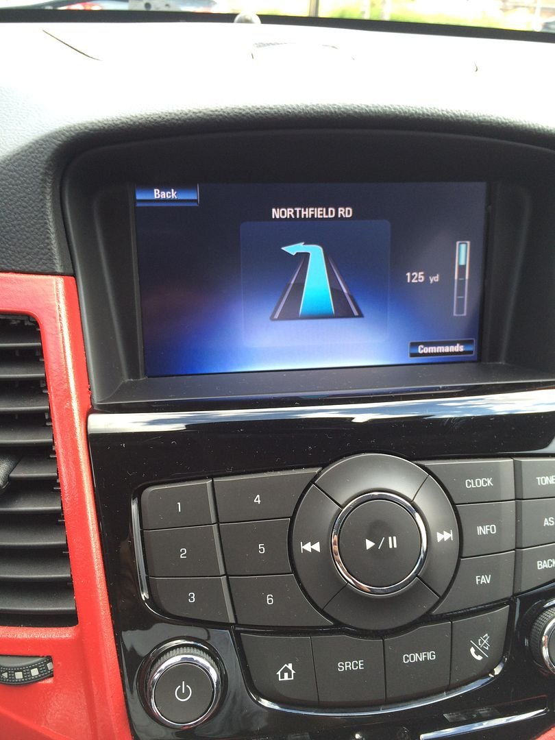 Backup Camera with MyLink Touch Screen Radio Without Nav