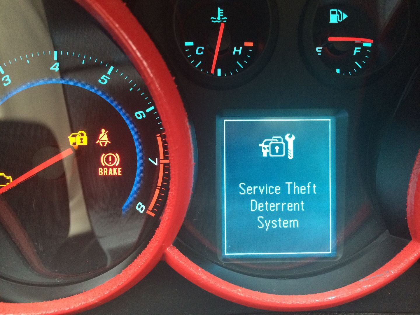 Service StabiliTrek, Service Traction Control, Service Power