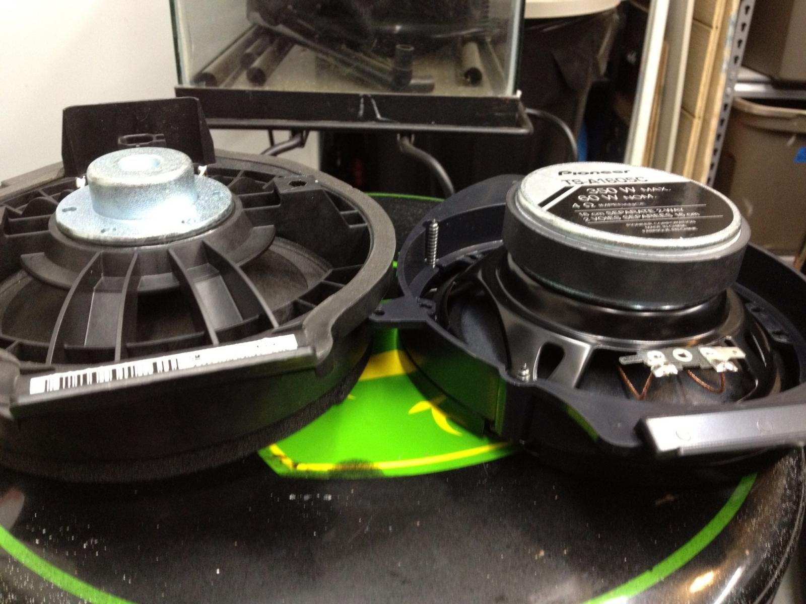 Swapping out rear door speakers for better volume    Chevrolet Cruze