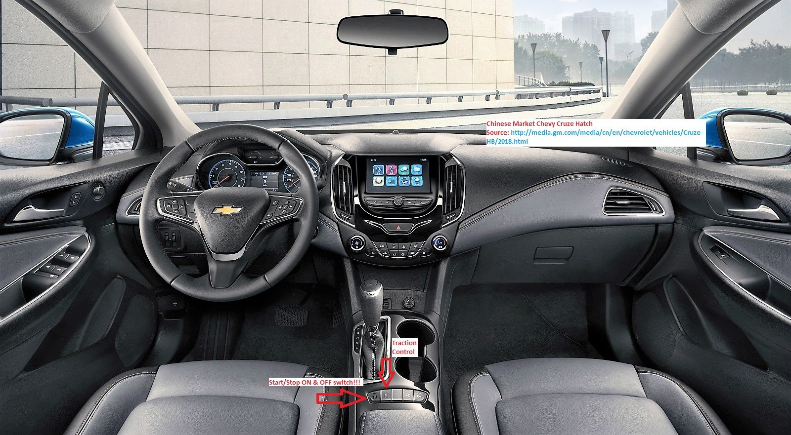 Auto Stop/Start ON & OFF button DOES exist    | Chevrolet Cruze Forums