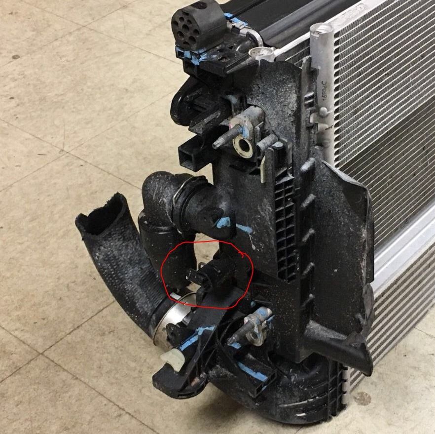 Chevy Cruze Temperature Sensor Recall