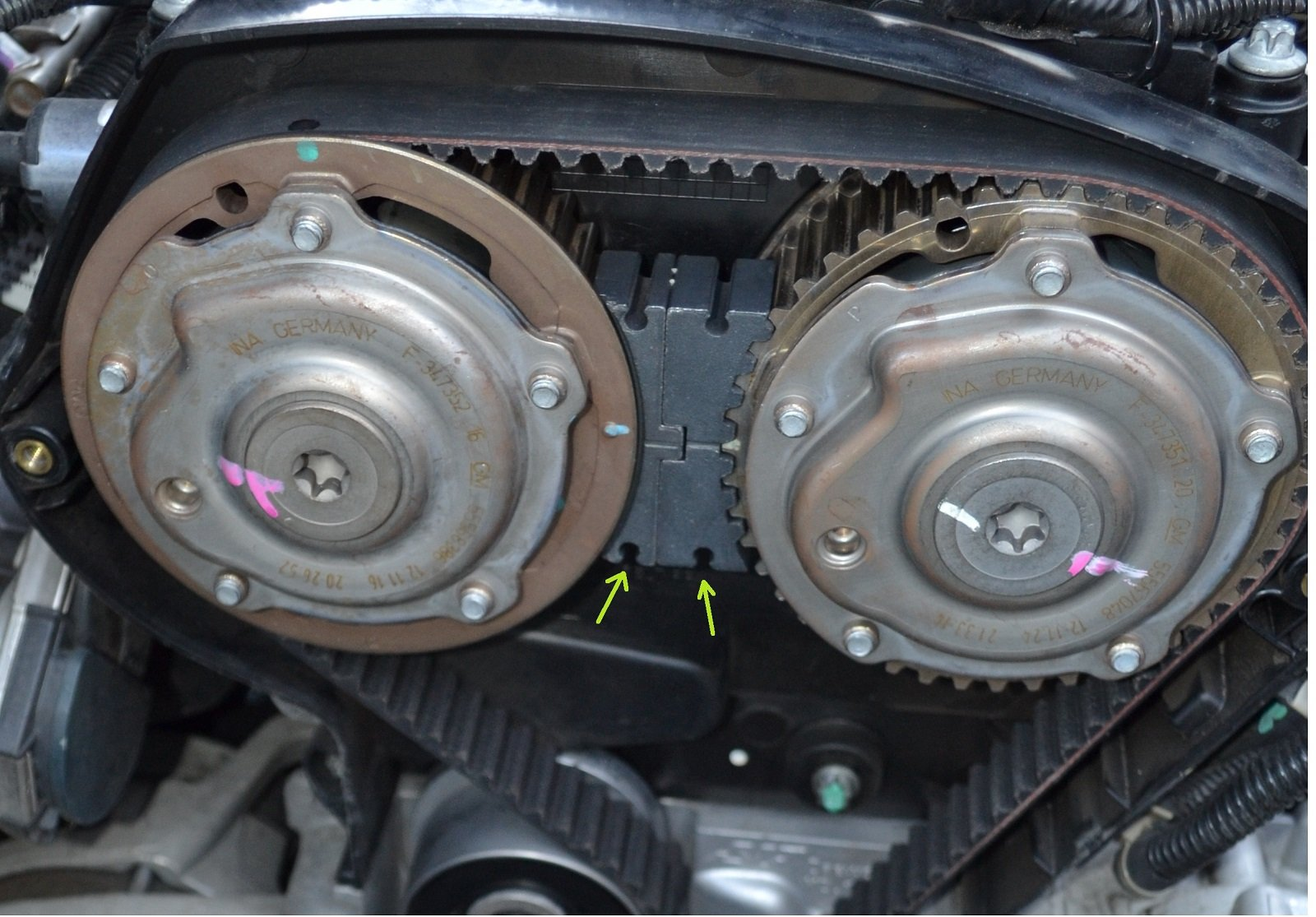 How To Timing Belt 1 8l And 1 6l Chevrolet Cruze Forums